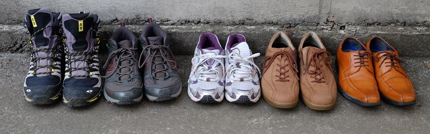 ウォーキング②~歩くためのアイテム~靴について・・