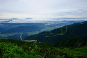 浅間山~南アルプス
