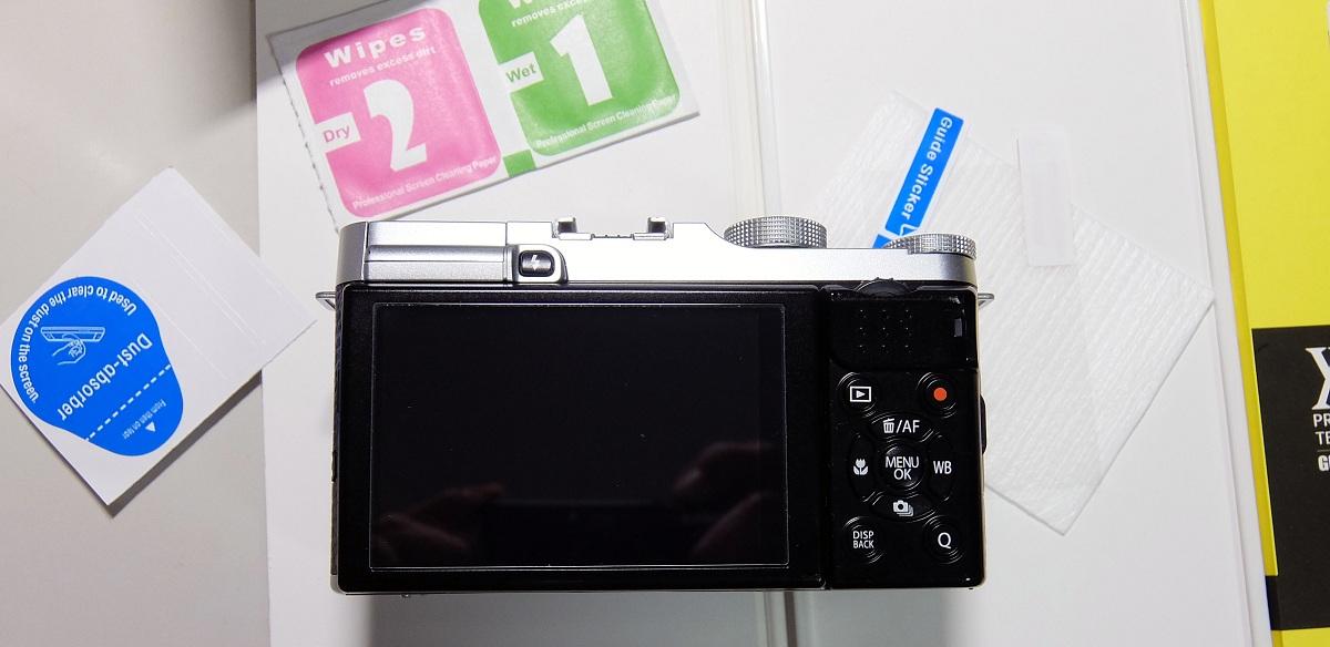 カメラ液晶保護フィルム~ガラス・0.3mm・9H~レビュー