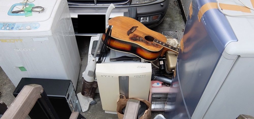 今時の廃品回収業~冷蔵庫・洗濯機・その他22点の回収で5,400円だった