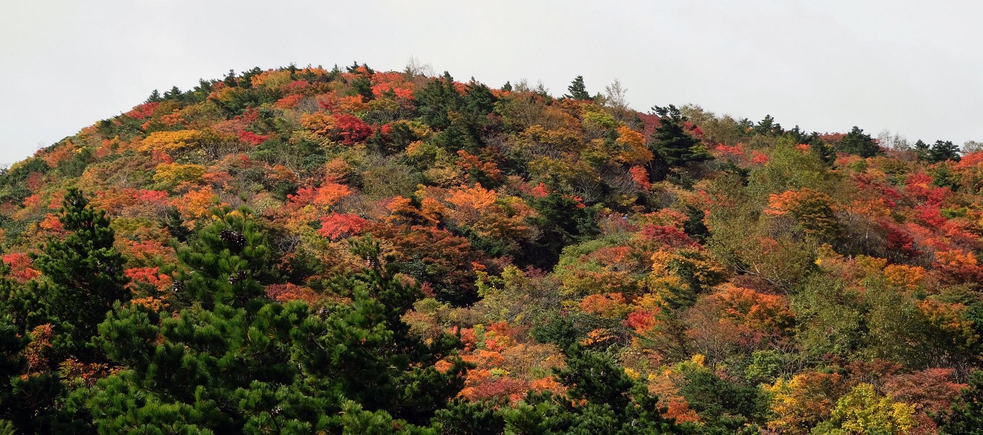 「安達太良山」①日本百名山~普段の日だからガラガラだった