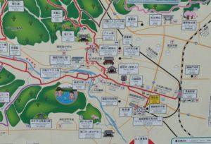 駅の案内図