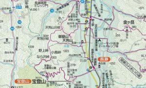 宝登山地図