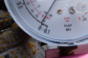 大気圧より少し上