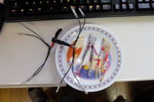 コンデンサーと分岐配線