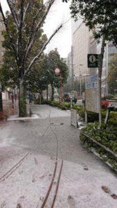 都会の雪1