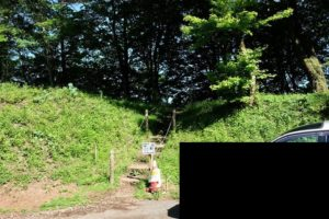堂平山登山道入口