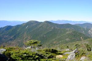金峰山と八ヶ岳