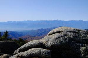 北奥千丈岳から南アルプス