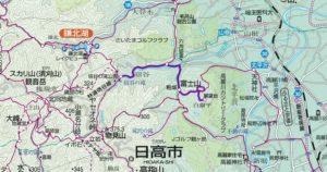 ふじやまの地図
