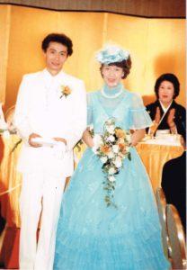 管理人の結婚式写真