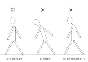 姿勢のイラスト