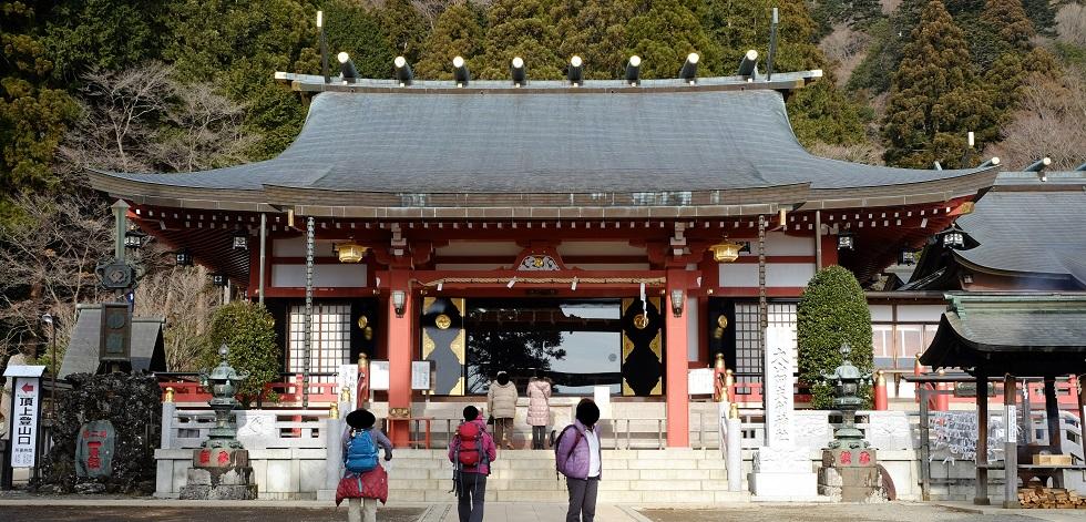 「大山」①おおやま~阿夫利神社