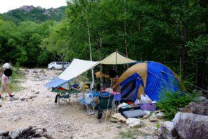 管理人のテント