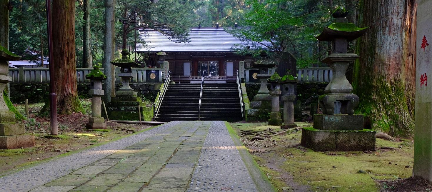 「赤城山」①日本百名山~カルデラ湖の大沼と神社のコラボ