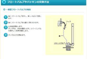 フロートバルブ交換1