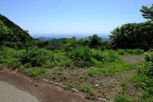 笠山峠からの展望