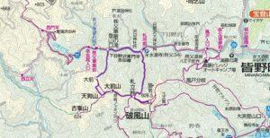 破風山地図