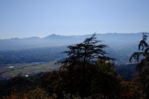 武甲山方面眺望