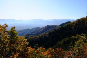 武蔵展望台からの景色