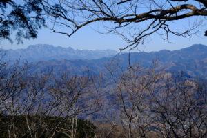 両神山と八ヶ岳